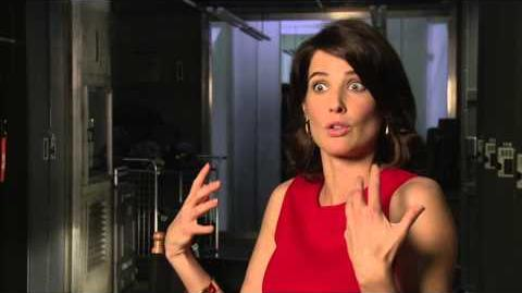 "Marvel's Avengers Age of Ultron Cobie Smulders ""Maria Hill"" Interview"
