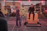 BTS Deadpool Test Footage Motion Capture