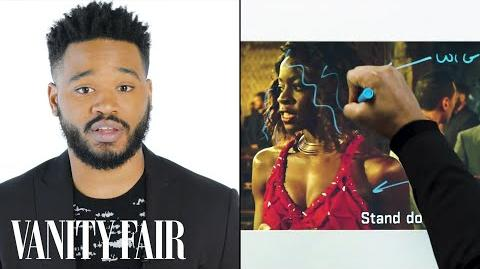 Black Panther's Director Ryan Coogler Breaks Down a Fight Scene Notes on a Scene Vanity Fair