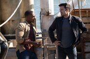 Sam Wilson and Bucky Barnes 2