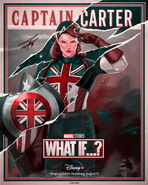 Captain Carter What If Poster