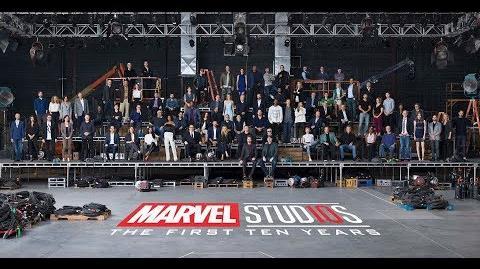 Marvel Studios 10th Anniversary Announcement – Class Photo Video