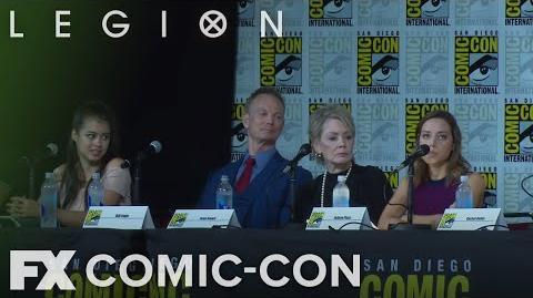 """Legion Comic-Con 2017 Aubrey Plaza's """"Wild Ride"""" FX"""