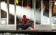 Spiderman hold on