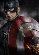 Cap Civil War Textless Poster