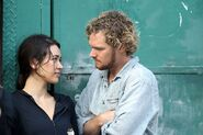 Iron Fist - Set - Danny and Colleen - September 17 2016 - 1