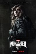 Amy Bendix S2 The Punisher Poster