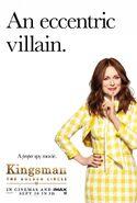 Kingsman The Golden Circle Poppy character UK poster