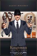 Kingsman The Golden Circle Whiskey character UK poster 2