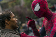 Maxwell Dillon and Spider-Man