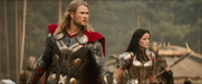 Thor The Dark World Thor and Sif