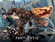 Fantastic four comic-con poster