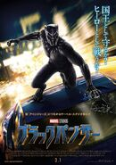 Black Panther Korea Poster