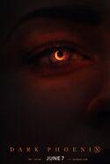 Dark Phoenix Eye Poster