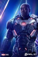 Rhodey War Machine InfinityWar poster