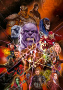 Avengers Infinity War artwork 5