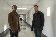 Sam Wilson and Bucky Barnes