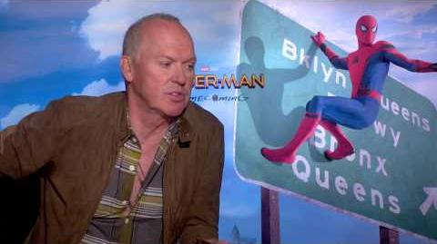 Spider-Man Homecoming Michael Keaton Interview