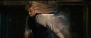 Pietro runs towards The Avengers