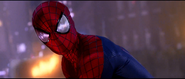 Spider-Man looking at Electro