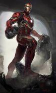Iron Man's Mark 45 Armor Concept Art 03