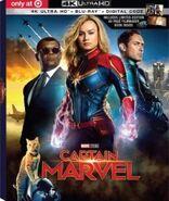 Captain Marvel Target Exclusive 4K Blu Ray Steelbook