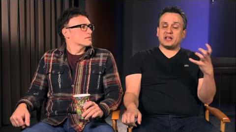 Captain America The Winter Soldier Directors Anthony & Joe Russo Official On Set Interview