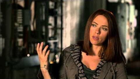 "Captain America The Winter Soldier Scarlett Johansson ""Black Widow"" Official On Set Interview"