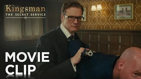 "Kingsman The Secret Service ""Bar Fight"" Clip HD 20th Century FOX"