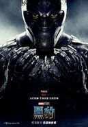 Black Panther Chinese Poster