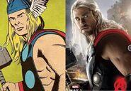 Thor-comic comparison