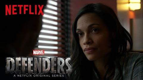 Marvel's The Defenders Claire Temple Netflix