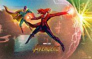 Fandango Avengers Infinity War mini poster team 2