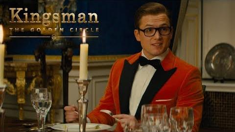 """Kingsman The Golden Circle """"Dinner Guest"""" TV Commercial 20th Century FOX"""