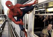 Spiderman-trainstick