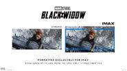 Black Widow IMAX Comparison