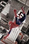 Spiderman-swinging above-EmpireState