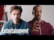 Anthony Mackie & Sebastian Stan Talk About Chemistry and Working Together - Entertainment Weekly