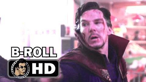 DOCTOR STRANGE B-Roll Footage Compilation (2016) Benedict Cumberbatch Marvel Movie HD
