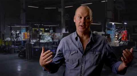 """Spider-Man Homecoming """"The Vulture"""" On Set Interview - Michael Keaton"""