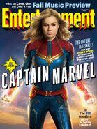 Captain Marvel EW Cover