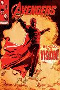 Vision Avengers AOU comic poster promo