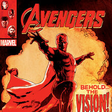 Vision Avengers AOU comic poster promo.jpg