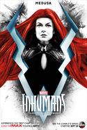 Inhumans Medusa character poster