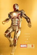 Iron Man Marvel 10th Aniversary Poster More Than A Suit