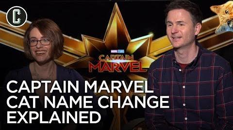 Captain Marvel Cat Name Change Explained by Directors