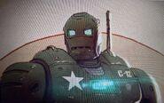Steve Rogers Iron Man WI concept art