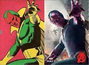 Vision-comic Comparison