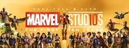Marvel Studios The First Ten Years banner