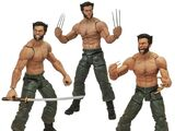 The Wolverine action figures
